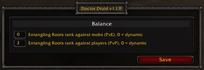Doctor Druid Balance