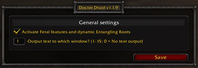 Doctor Druid Main
