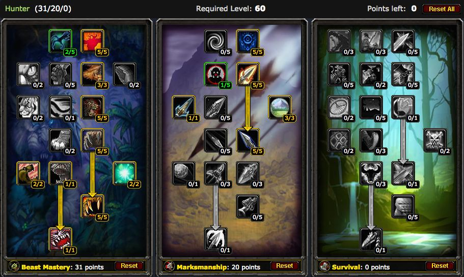 Leveling a Hunter in Vanilla World of Warcraft